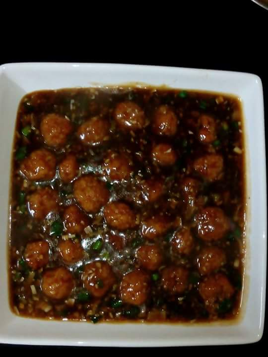 Vegetables manchurian recipe and nutrition chart yumzen vegetables manchurian forumfinder Image collections