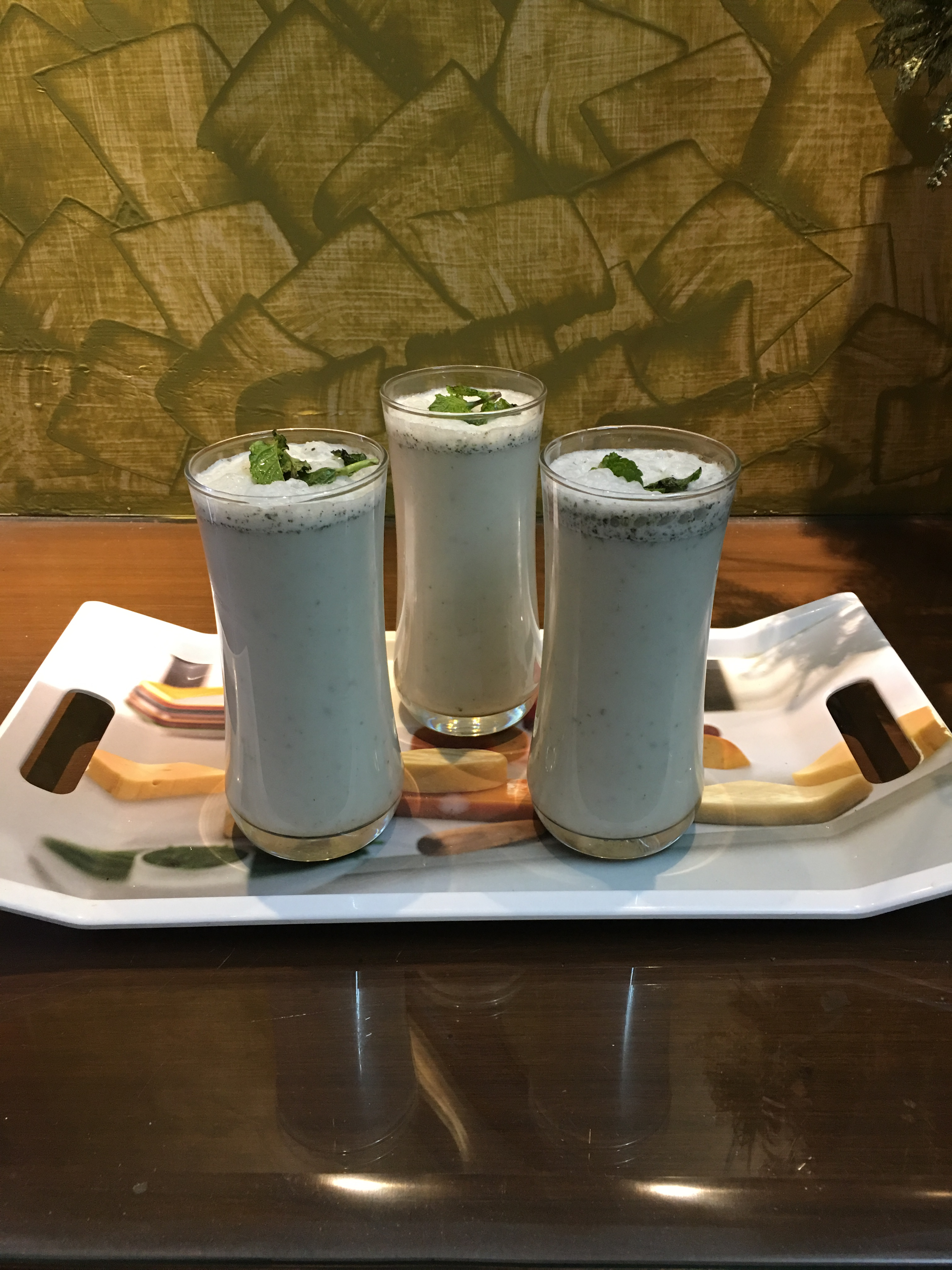 Mother's day special mint lassi