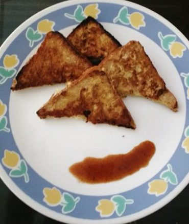 Savoury, Spicy Indian-Style French Toast
